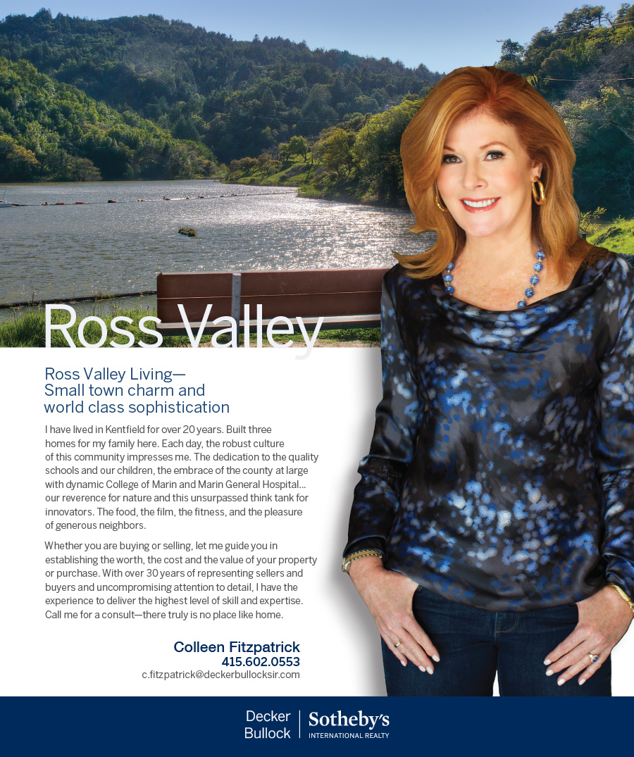 Colleen Fitzpatrick knows Kentfield Ross real estate