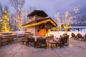 SSL Fireplace Winter
