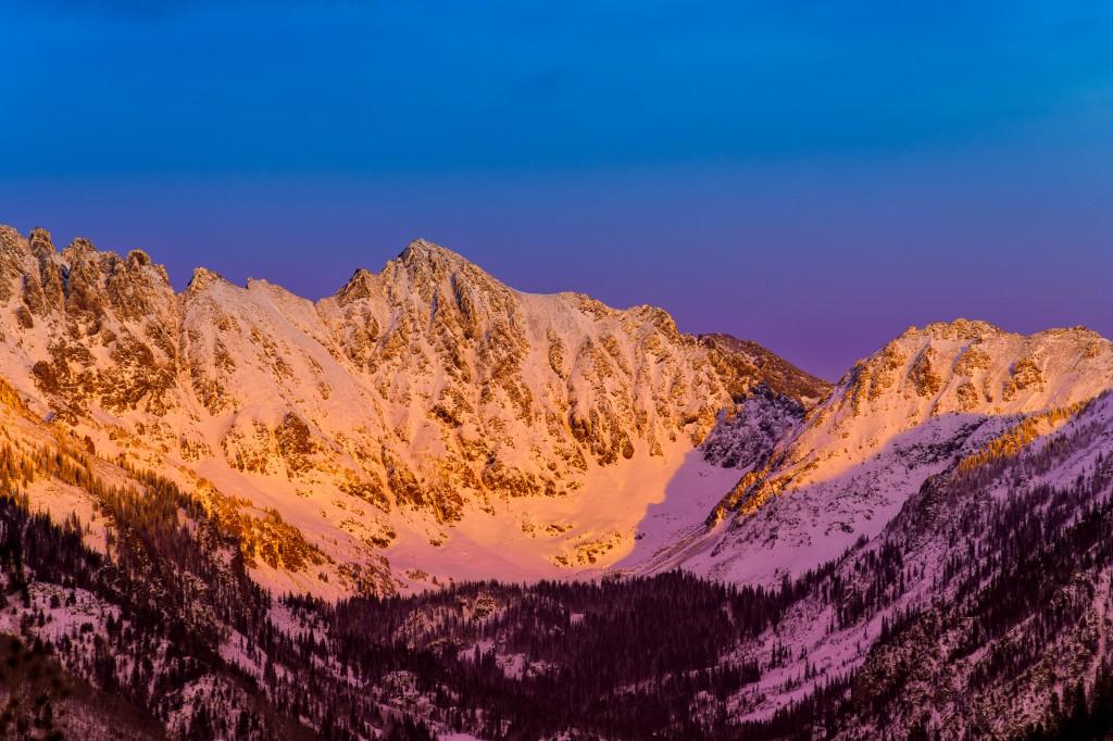 Vail Colorado Gore Range View